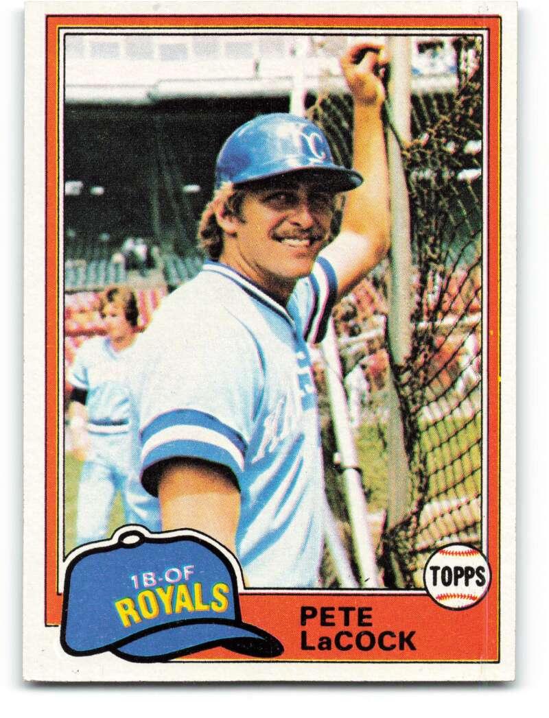 1981 Topps #9 Pete LaCock DP NM-MT