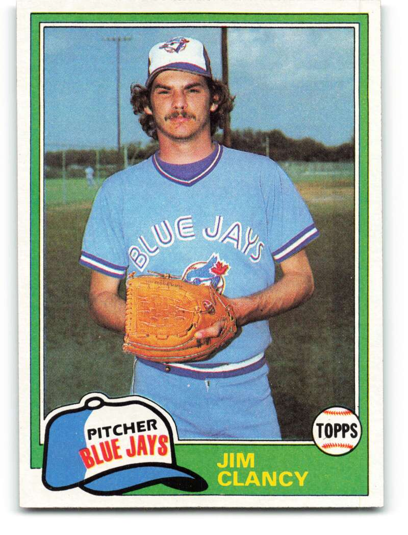 Fanzonemn Item 360952 1981 Topps 19 Jim Clancy Vgex Very Good