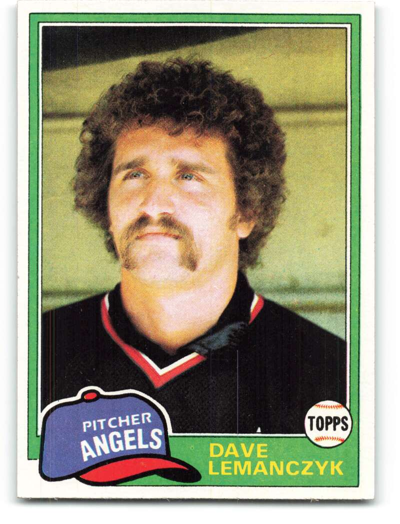 1981 Topps #391 Dave Lemanczyk DP NM-MT