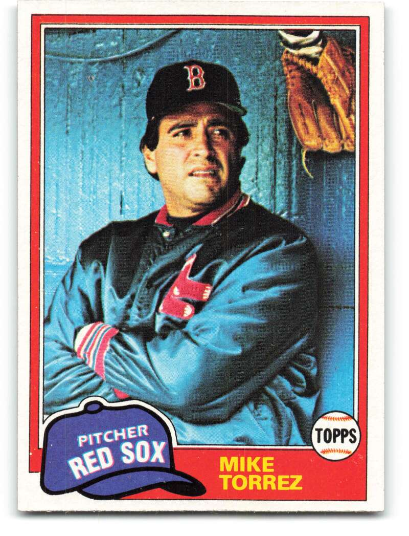 1981 Topps #525 Mike Torrez NM-MT