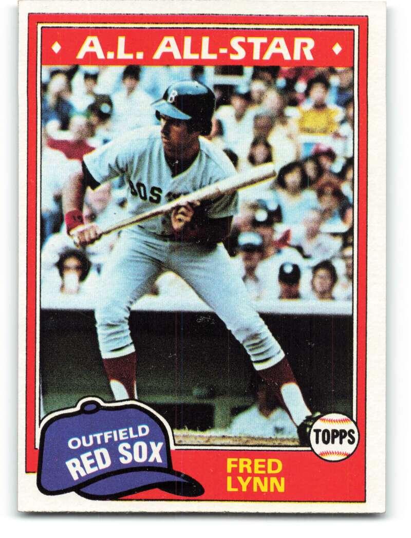 1981 Topps #720 Fred Lynn NM-MT