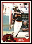 1981 Topps Baseball #254 Ozzie Smith