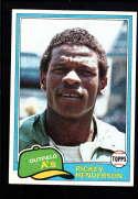 1981 Topps #261 Rickey Henderson NM-MT