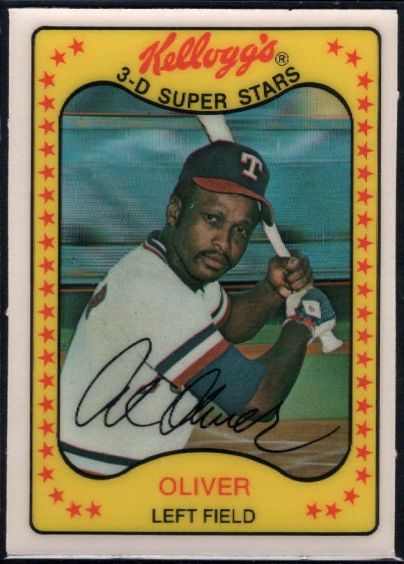1981 Kelloggs Base Baseball Checklist Ultimate Cards And