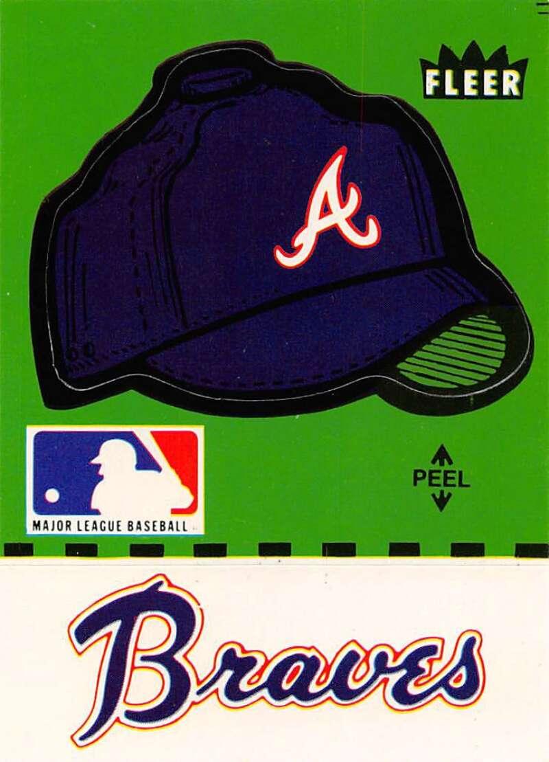 1981 Fleer  Team Logo Stickers
