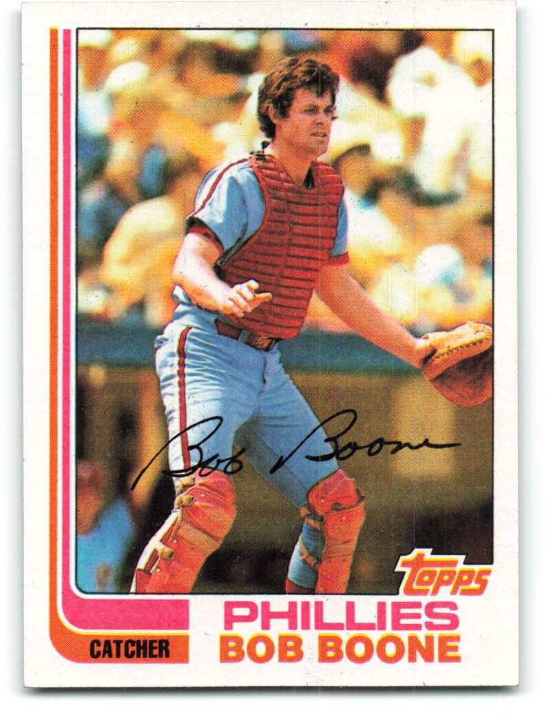 1982 Topps #615 Bob Boone Phillies