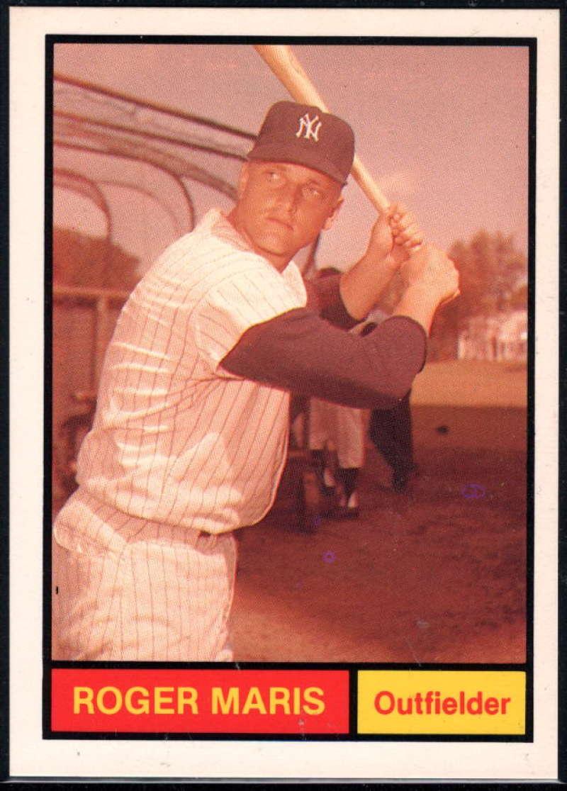 1982 Galasso 1961 World Champions New York Yankees