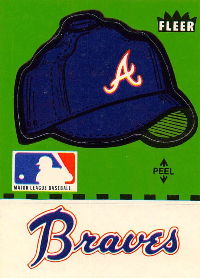 1982 Fleer  Team Stickers