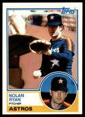 1983 Topps #360 Nolan Ryan EX