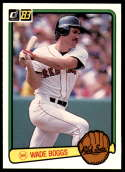 1983 Donruss #586 Wade Boggs NM RC Rookie