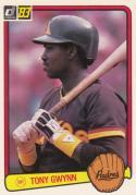 1983 Donruss #598 Tony Gwynn NM RC Rookie