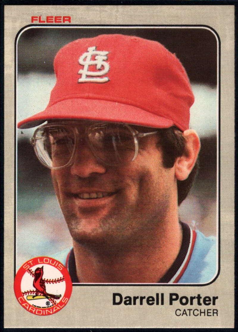 Baseball MLB 1983 Fleer #18 Darrell Porter NM-MT Cardinals