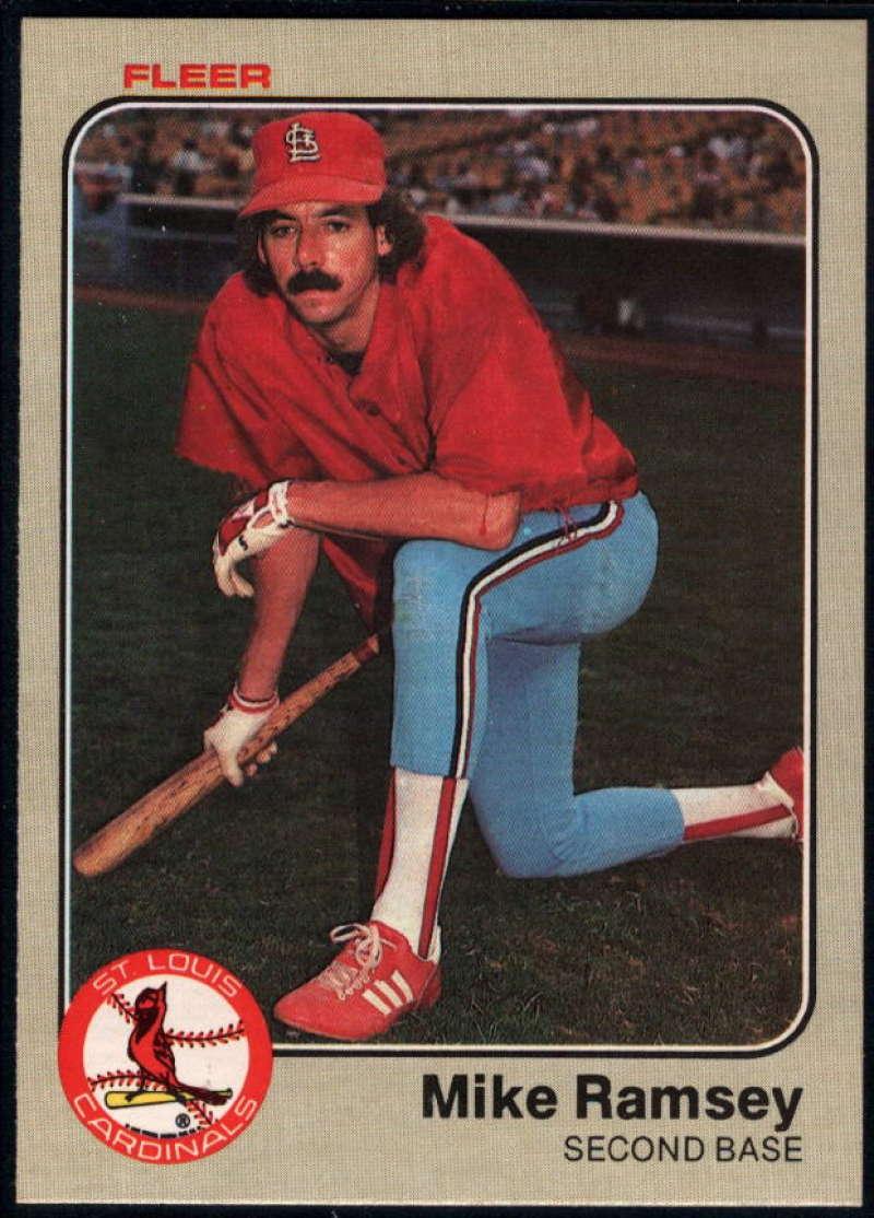 Baseball MLB 1983 Fleer #19 Mike Ramsey NM-MT Cardinals