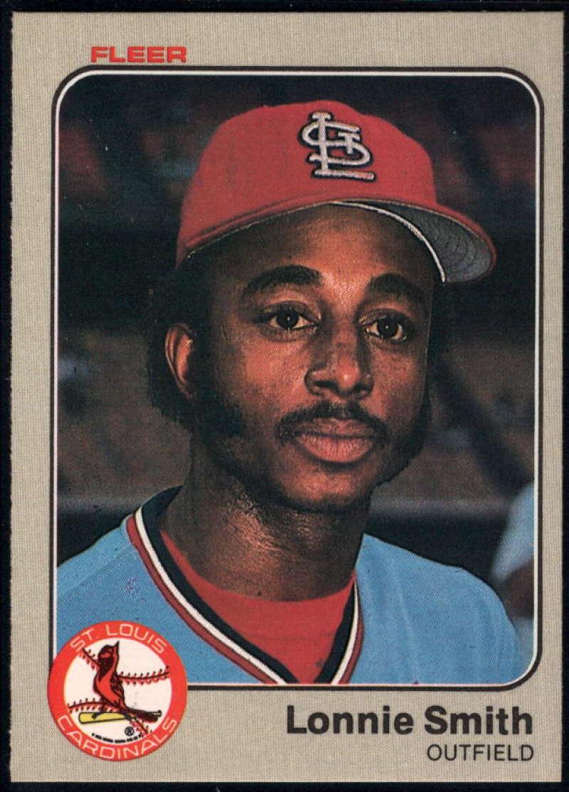Baseball MLB 1983 Fleer #21 Lonnie Smith NM-MT Cardinals