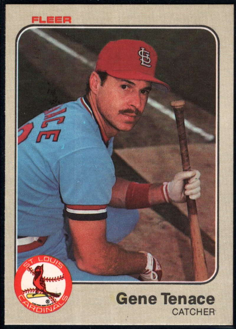Baseball MLB 1983 Fleer #25 Gene Tenace NM-MT Cardinals