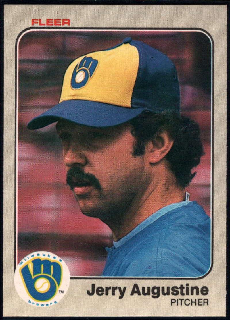 Baseball MLB 1983 Fleer #26 Jerry Augustine NM-MT Brewers