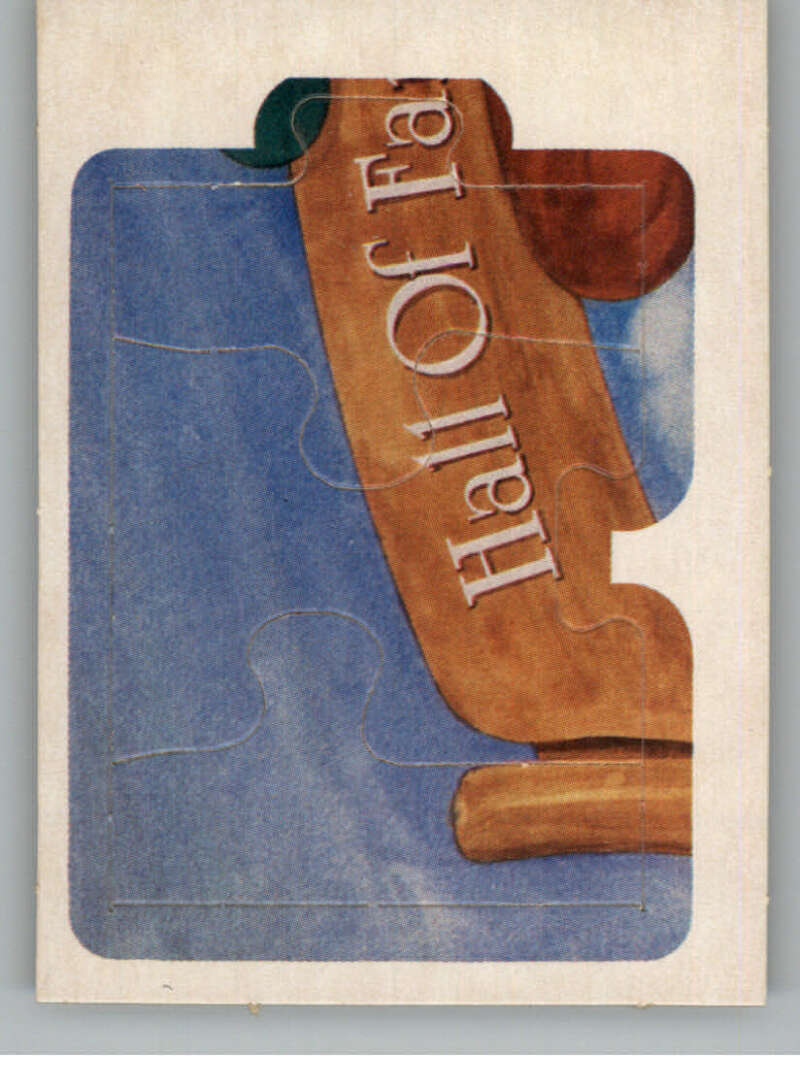 1983 Donruss  Ty Cobb Puzzle