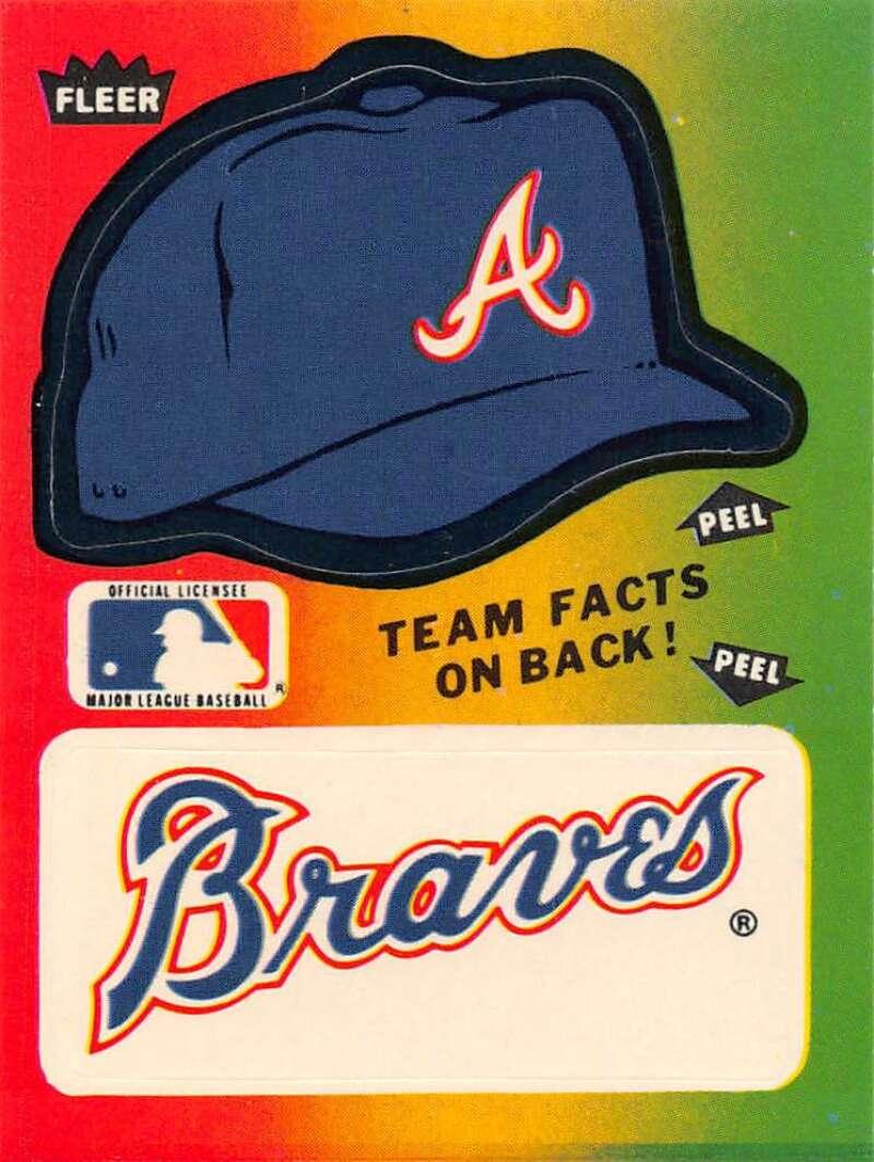 1983 Fleer  Team Stickers