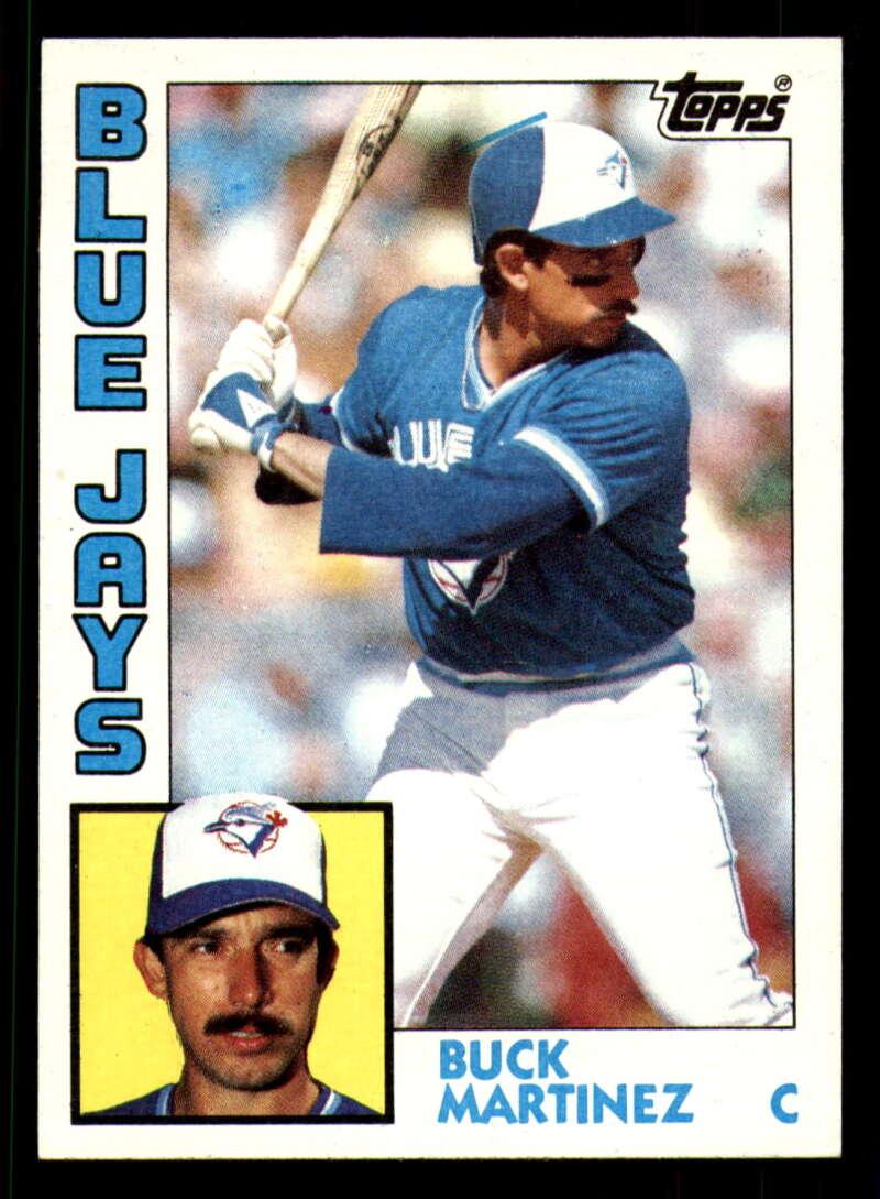 1984 Topps Baseball #179 Buck Martinez Toronto Blue Jays