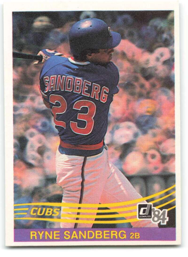 1984 Donruss Baseball #311 Ryne Sandberg Chicago Cubs