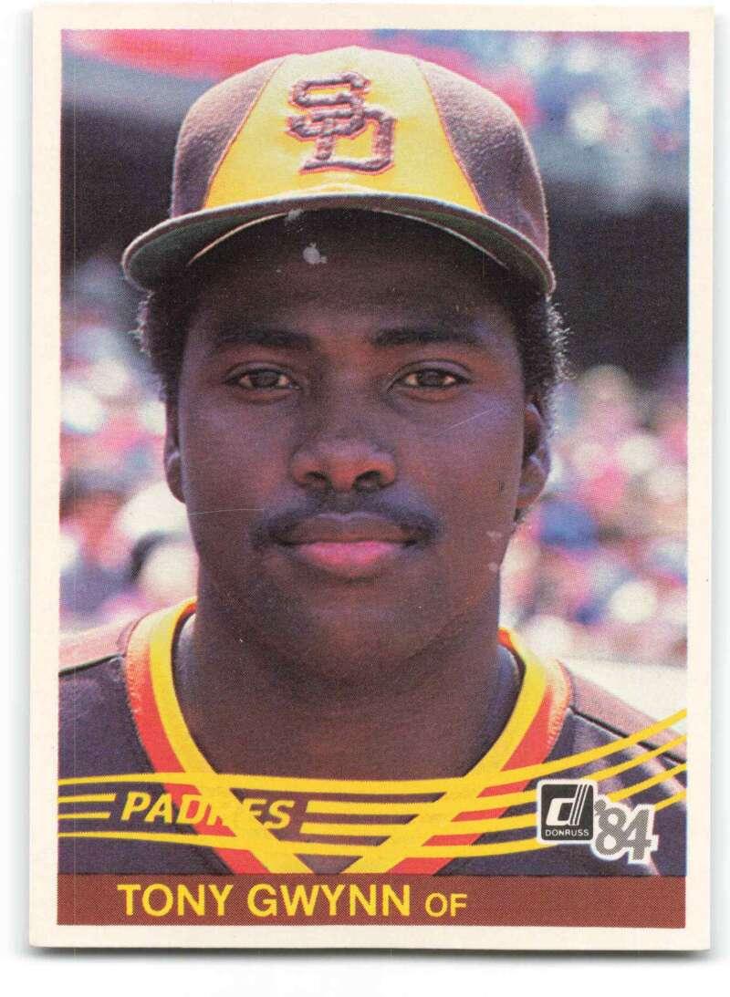 1984 Donruss Baseball #324 Tony Gwynn San Diego Padres