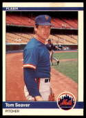 1984 Fleer #595 Tom Seaver NM-MT New York Mets