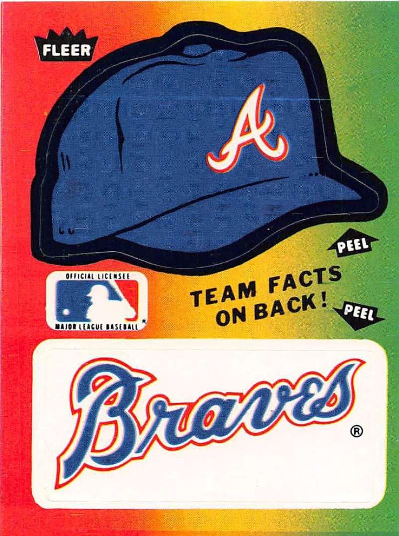 1984 Fleer  Team Stickers