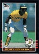 1985 Donruss #176 Rickey Henderson 3000