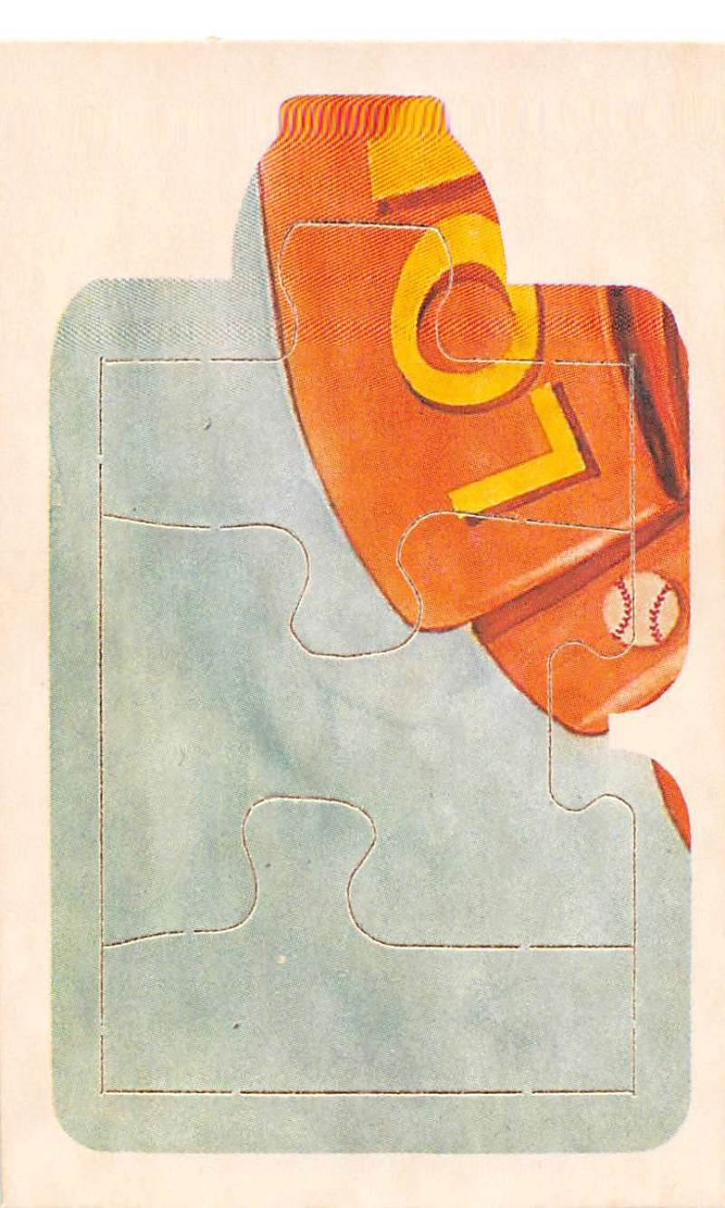 1985 Donruss  Lou Gehrig Puzzle