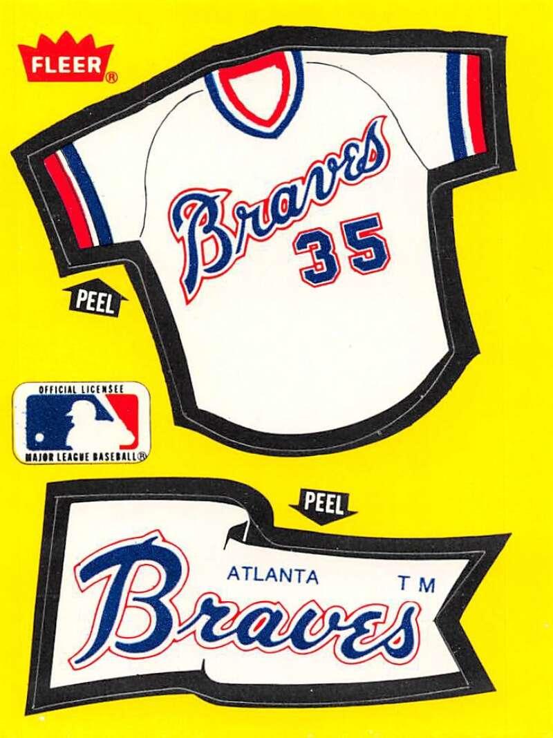 1985 Fleer  Team Stickers