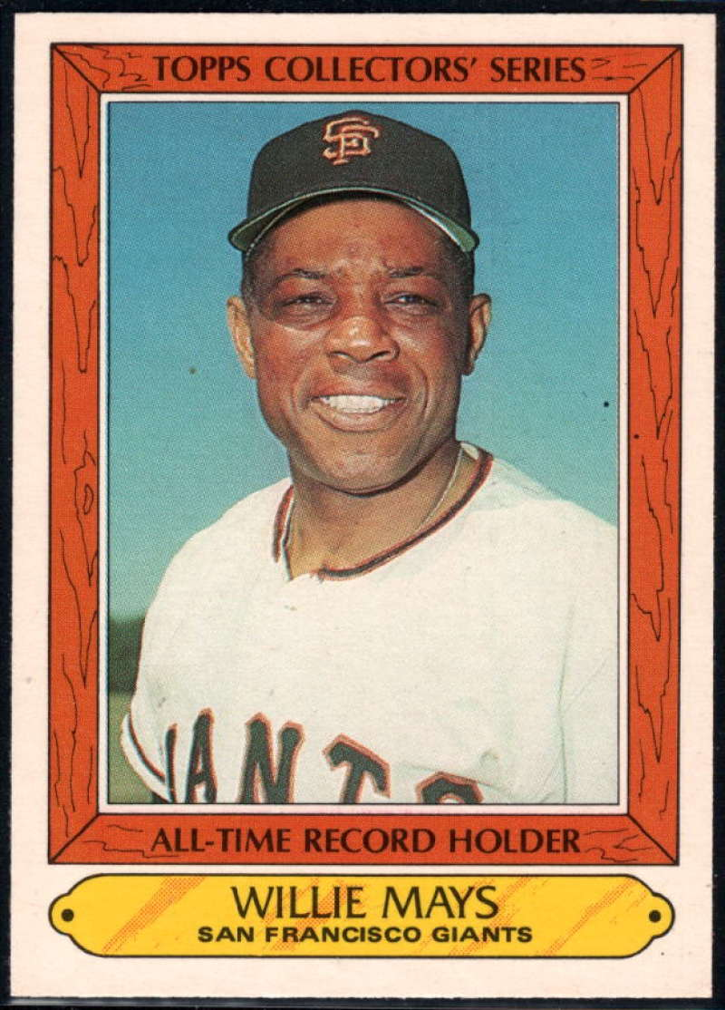 1985 Woolworth Topps Collectors' Series #26 Willie Mays NM-MT San Francisco Giants Baseball