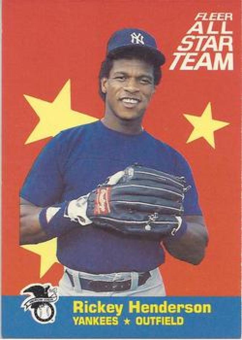 1986 Fleer  All Stars