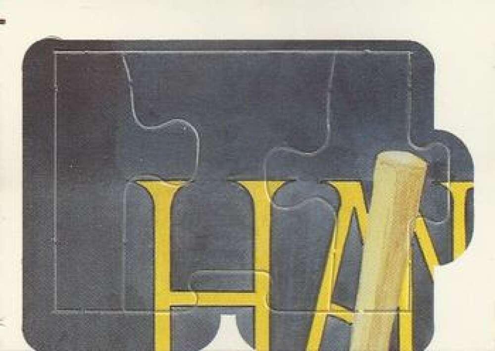 1986 Donruss  Hank Aaron Puzzle