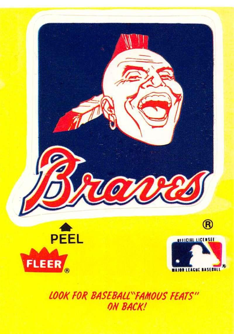 1986 Fleer  Team Stickers