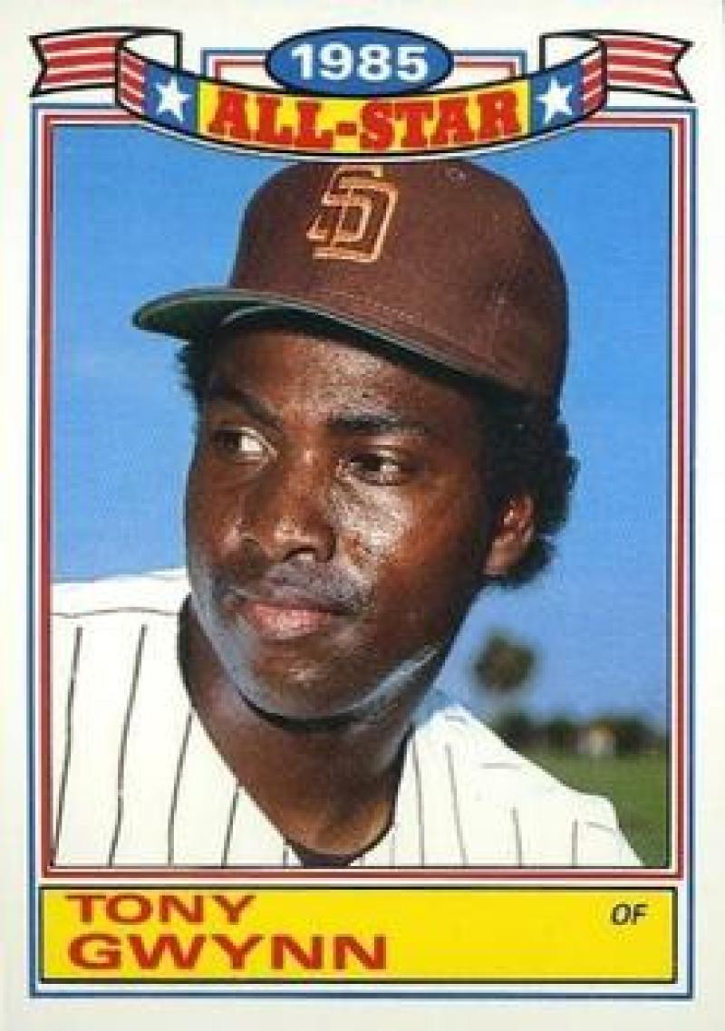 1986 Topps  Glossy All-Stars