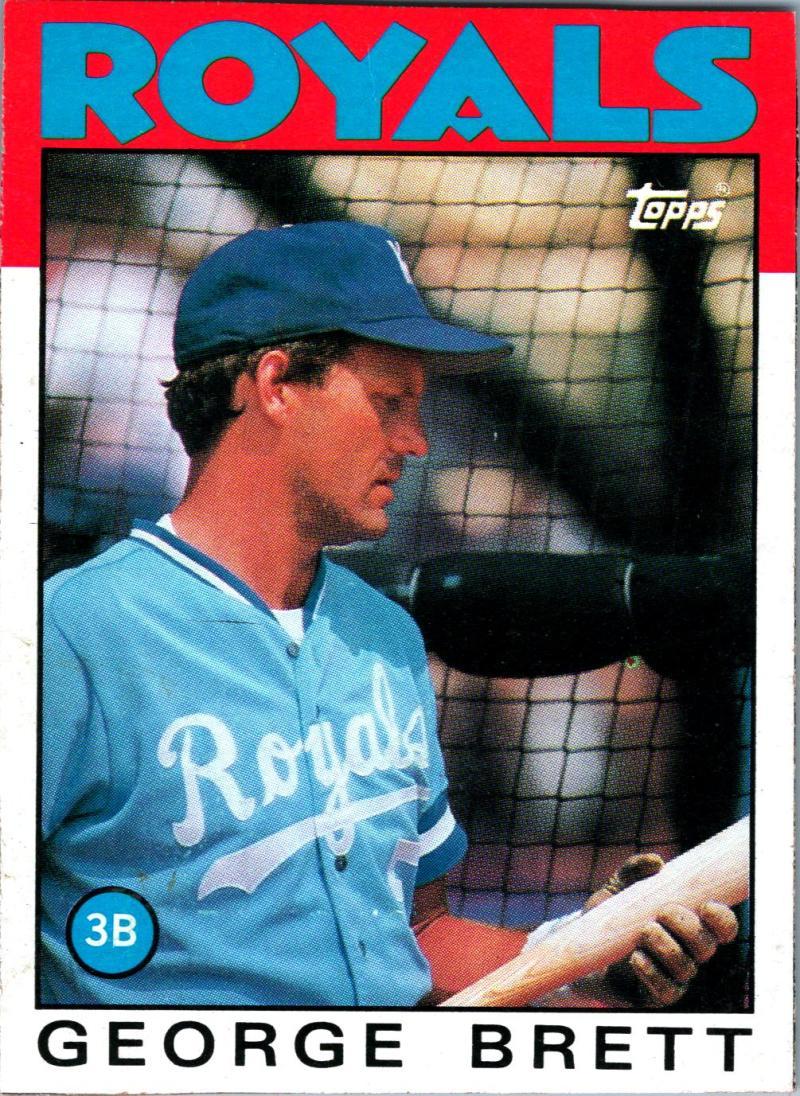 1986 Topps  Wax Box Cards