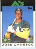 1986 Topps Traded #20T Jose Canseco RC Rookie Athletics