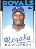 1986 Topps Traded #50T Bo Jackson RC Rookie Royals