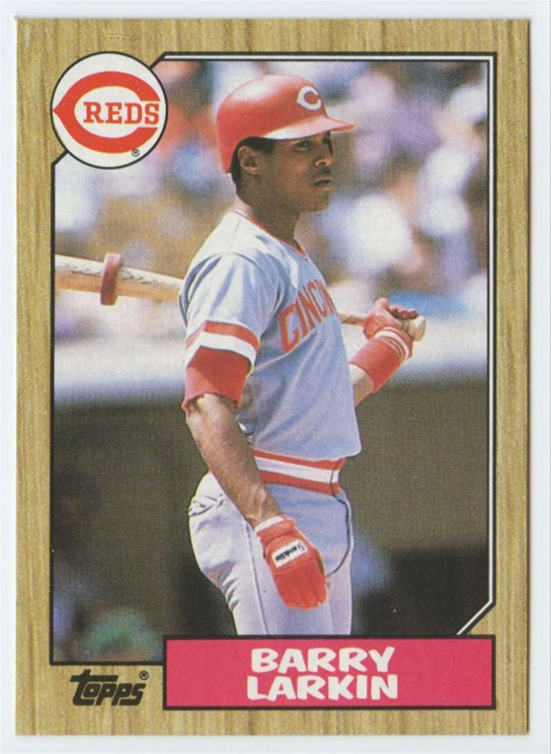 1987 Topps #648 Barry Larkin RC Rookie