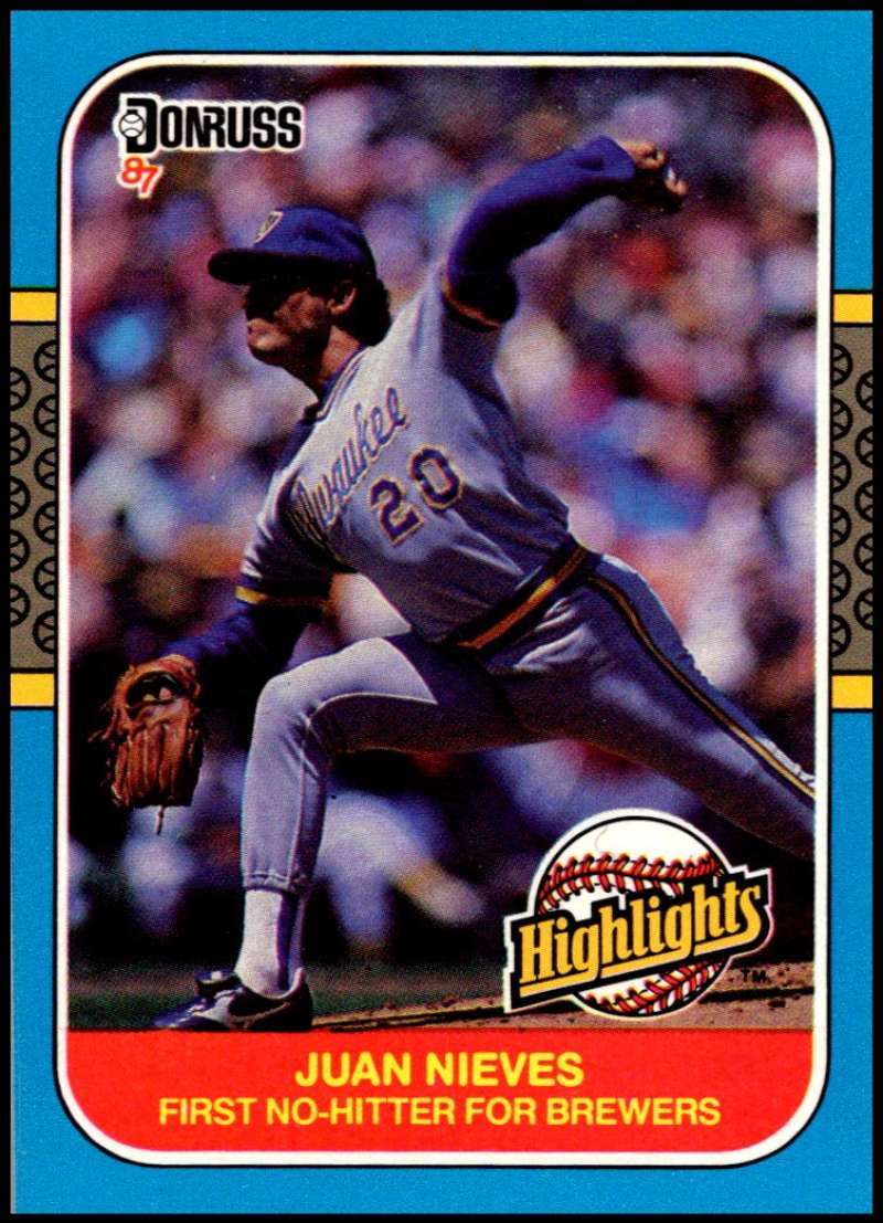 1987 Donruss  Highlights