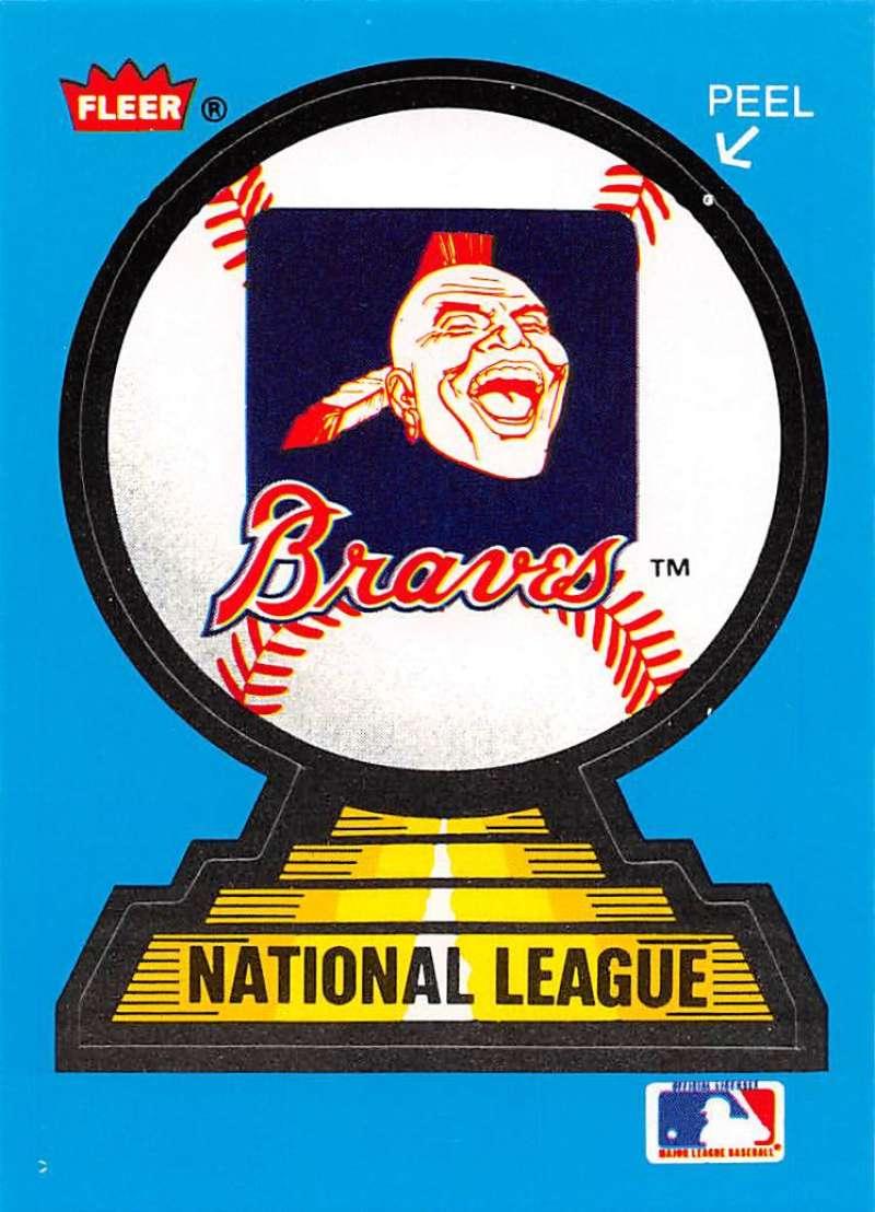 1987 Fleer  Team Stickers
