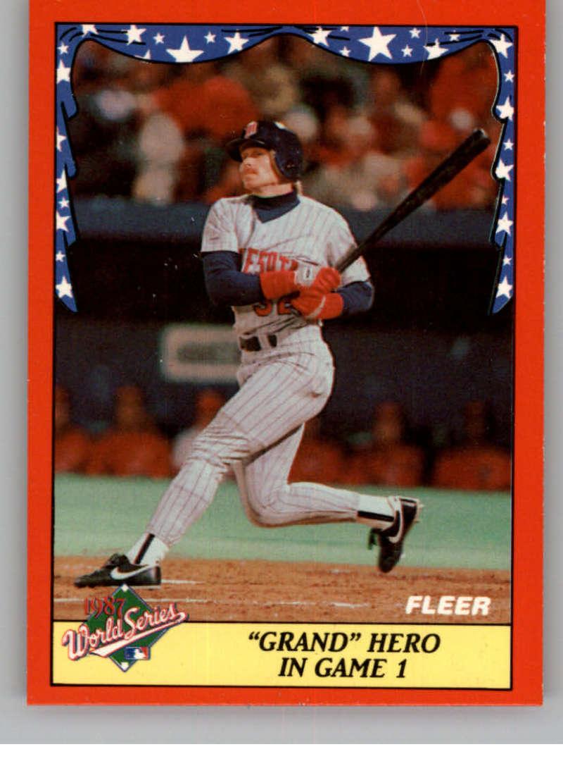 1988 Fleer  World Series Glossy