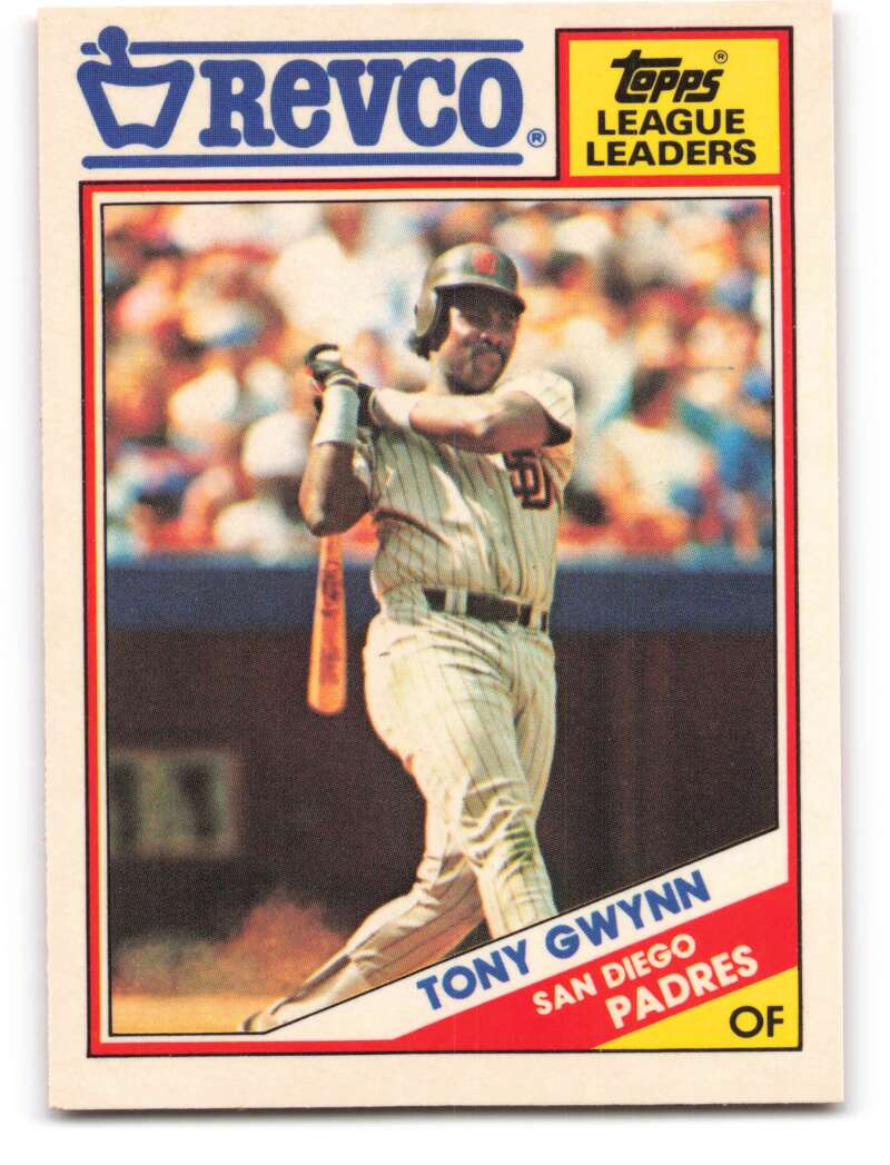 1988 Topps Revco League Leaders