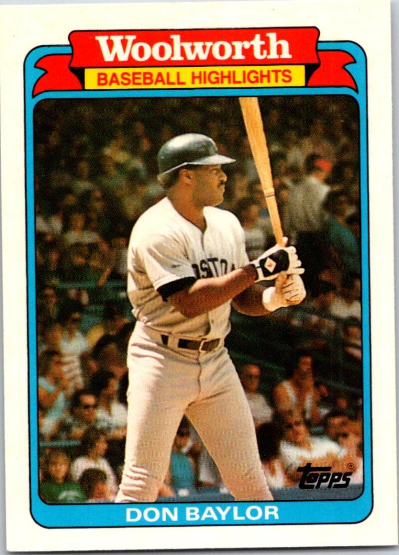 1988 Topps Woolworth Baseball Highlights