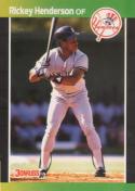 1989 Donruss #245 Rickey Henderson 3000