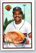 1989 Bowman #468 Wilfredo Tejada NM Near Mint San Francisco Giants  Officially Licensed MLB Baseball Trading Card