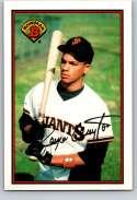 1989 Bowman #472 Royce Clayton RC NM Near Mint San Francisco Giants  Officially Licensed MLB Baseball Trading Card