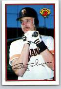 1989 Bowman #473 Robby Thompson NM Near Mint San Francisco Giants  Officially Licensed MLB Baseball Trading Card