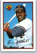 1989 Bowman #474 Kevin Mitchell NM Near Mint San Francisco Giants  Officially Licensed MLB Baseball Trading Card