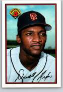 1989 Bowman #477 Donell Nixon NM Near Mint San Francisco Giants  Officially Licensed MLB Baseball Trading Card
